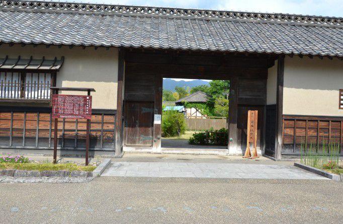 旧白井家表門