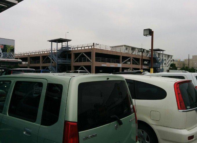 足利健康ランド駐車場