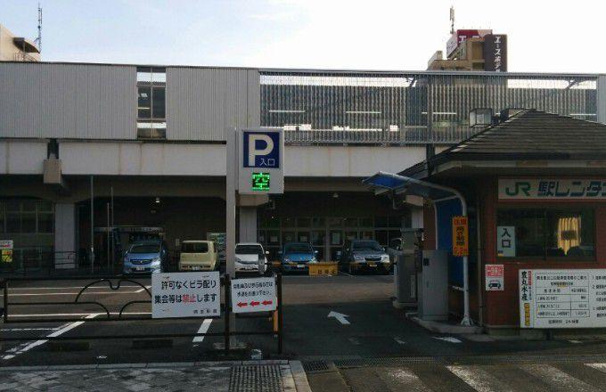 桐生駅前駐車場