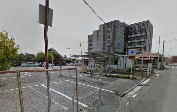 シニアの杜桐生そばの駐車場