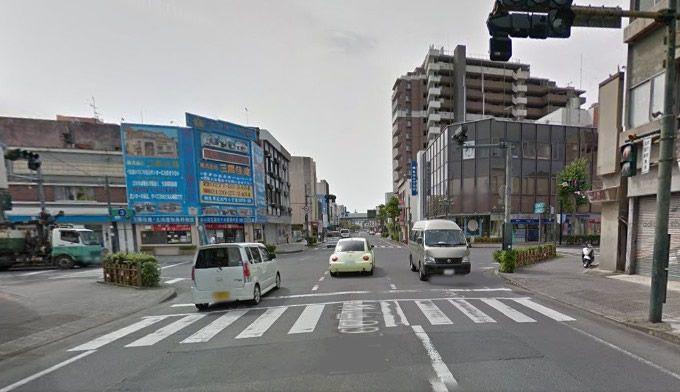 普段の桐生市街地