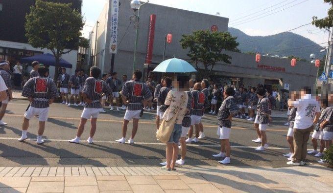 桐生祭の様子