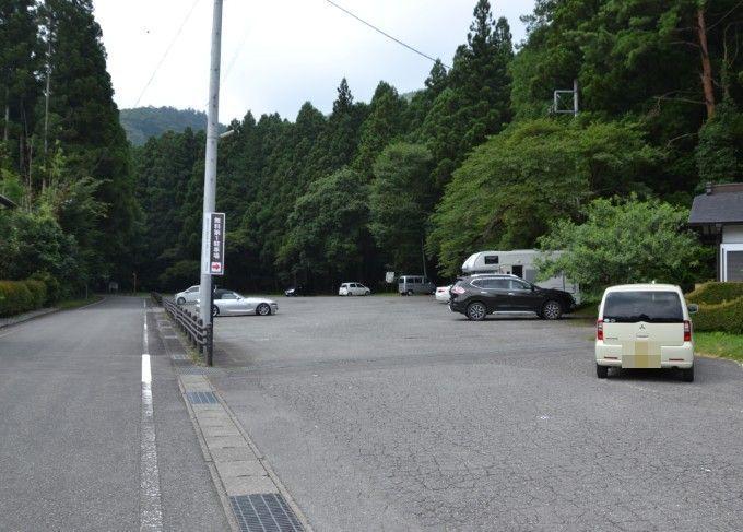 赤城神社駐車場