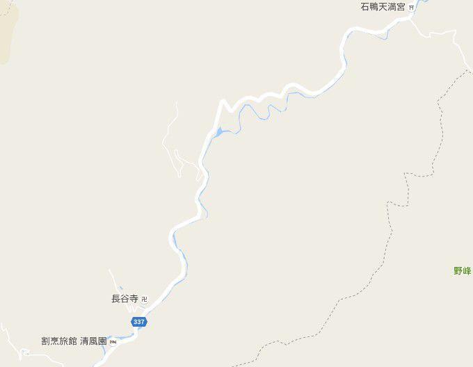 桐生川沿線マップ