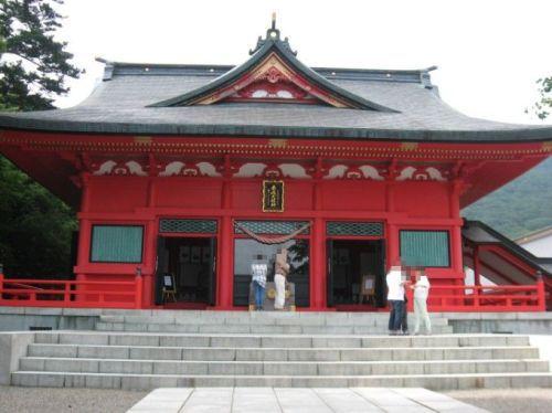 大洞赤城神社拝殿