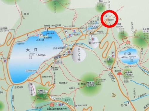 赤城観光マップ