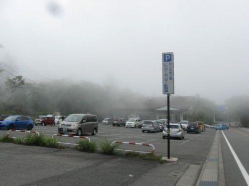 ビジターセンター駐車場