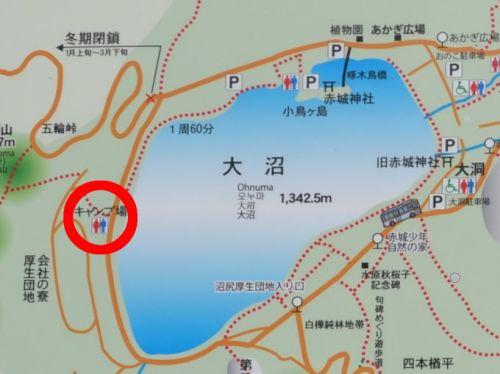 大沼周辺地図