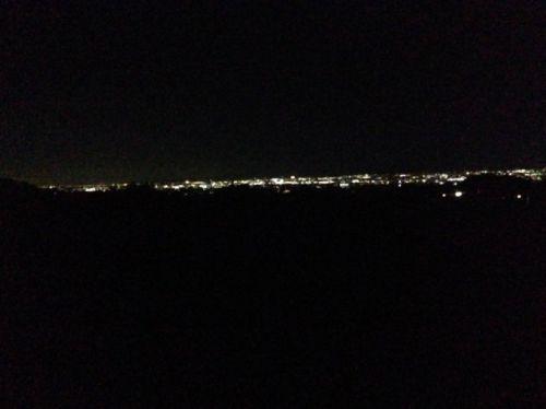 赤城山からの夜景
