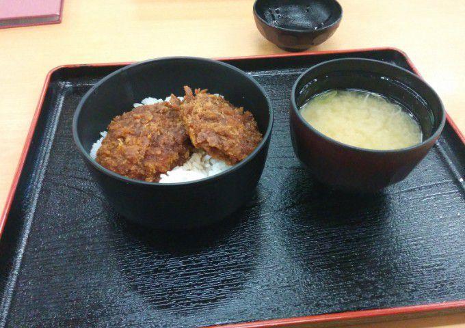 ミニソースヒレカツ丼