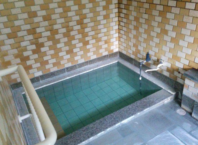綿貫ペンションの温泉風呂