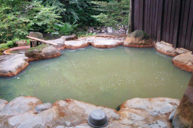 野天風呂と壺風呂