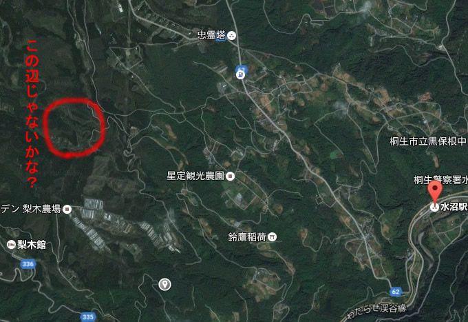 猿川温泉周辺地図