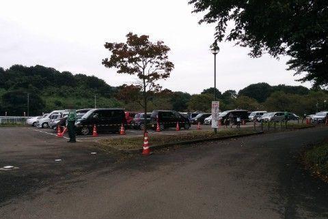 かかし祭りの無料駐車場