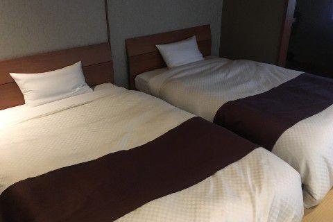 客室ののベッド