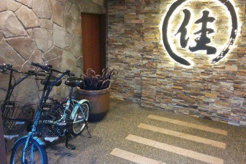レンタル傘とレンタル自転車
