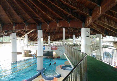 テルメテルメの温水プール