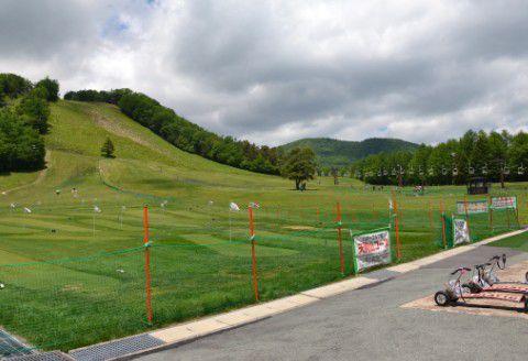 夏の天狗山スキー場