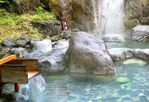 草津ビッグバスの露天風呂
