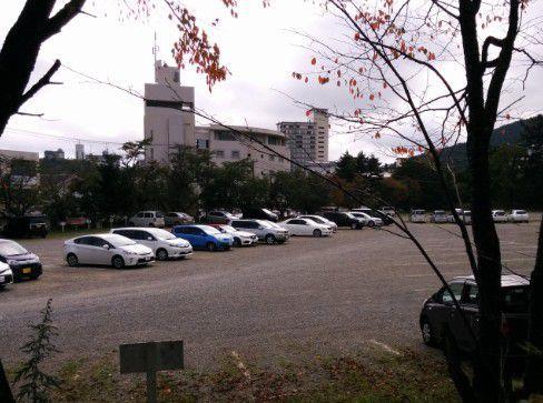 西の河原公園駐車場