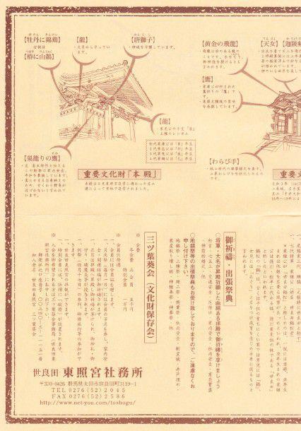 社殿の彫刻、文様の意味