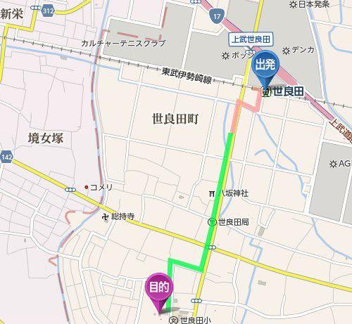 世良田駅から世良田東照宮までのアクセス、道のり