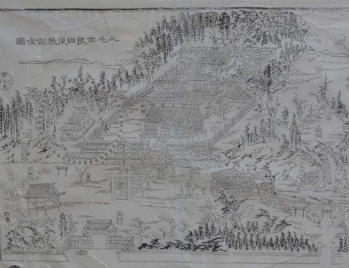 江戸時代の境内図