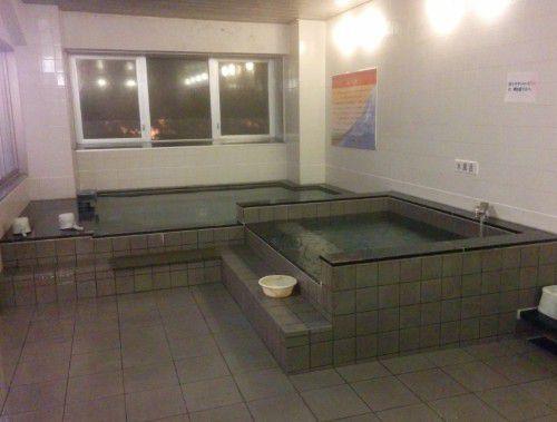 内湯と水風呂
