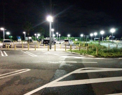 浜松SA小型車駐車エリア