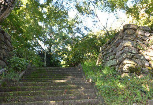 二俣城石垣