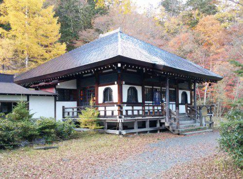 温泉寺の本堂