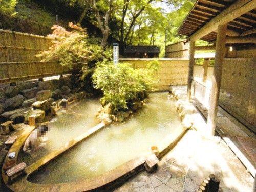 男湯の露天風呂