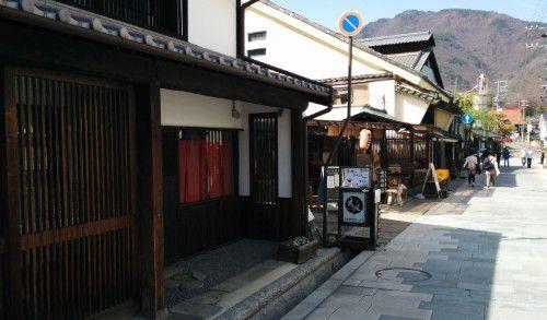 柳町の通りの様子