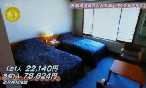 斎藤ホテルの客室