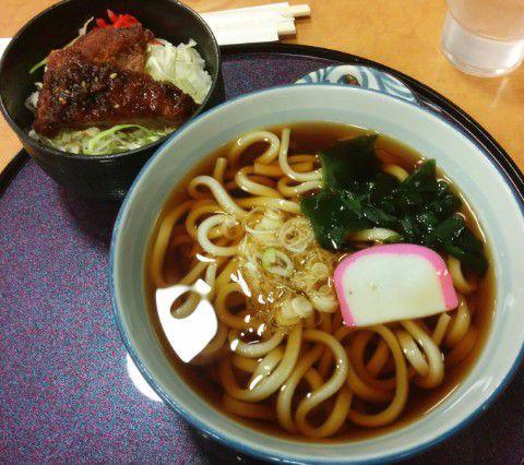 ソースヒレカツ丼セット