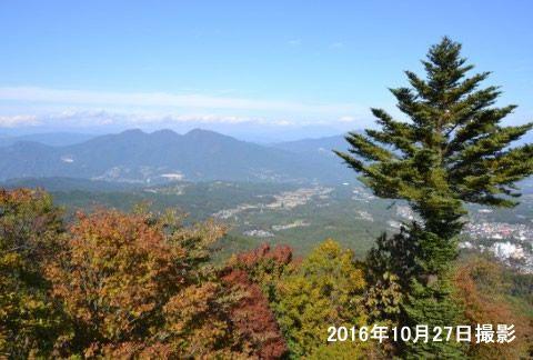高根展望台からの眺め