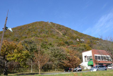榛名富士の紅葉