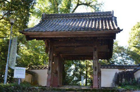 清龍寺の山門
