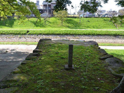 板屋門跡の碑