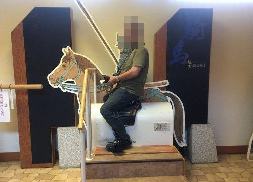 騎馬武者体験