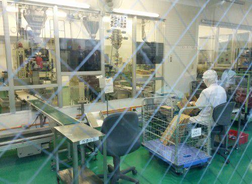 今の八丁味噌製造工場の中