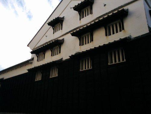 八丁味噌合資会社カクキューの工場建物
