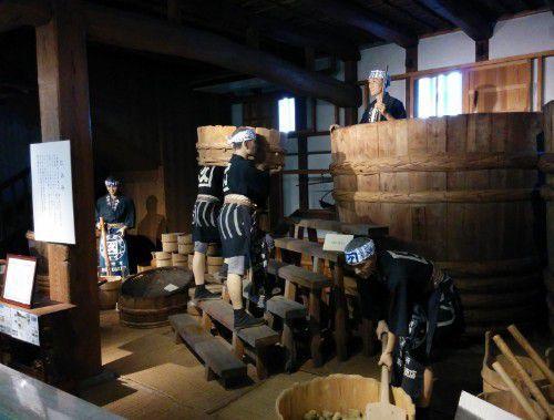 昔の味噌作りの工程