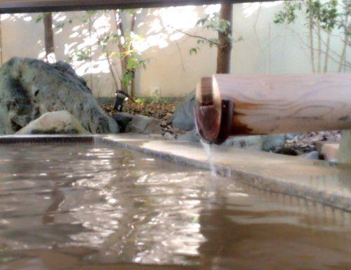 黄金の湯露天風呂(石景の湯)