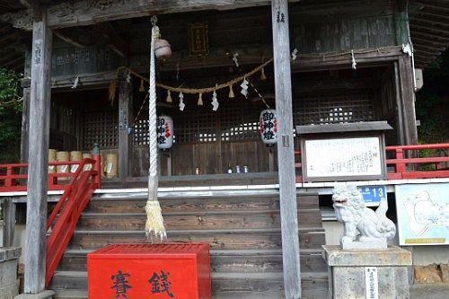 愛宕神社拝殿