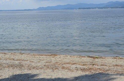 浜名湖サンビーチの砂浜