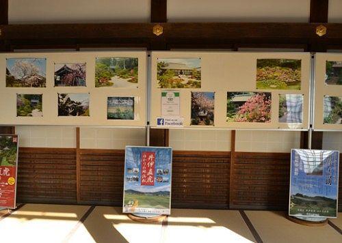 四季の龍潭寺の写真