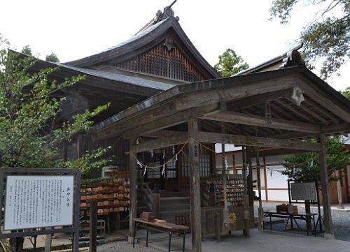 井伊谷宮拝殿の建物