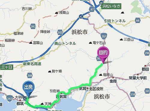 井伊谷宮アクセスマップ