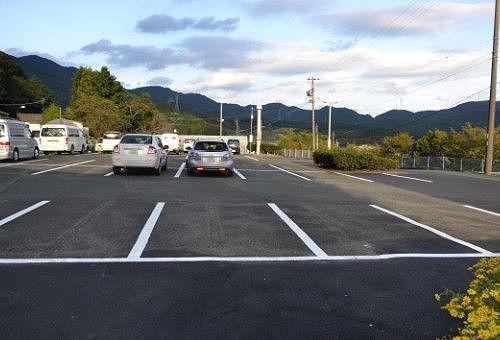 井伊谷城址に行く為に停めた駐車場